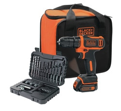 Black and Decker - Trapano  Avvitatore 108V LITIO con SET 32 accessori - BDCDD12S32A