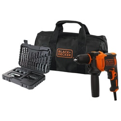 Black and Decker - Trapano a percussione 710W con 32 accessori in Softbag - BEH710SA32