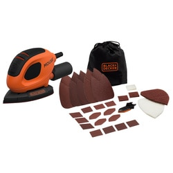 Black and Decker - Levigatrice Mouse con 15 accessori e softbag - BEW230BC