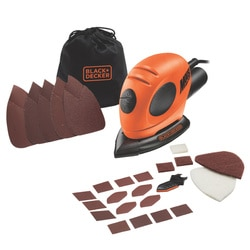 Black and Decker - Levigatrice Mouse 55W con 15 accessori - KA161BC