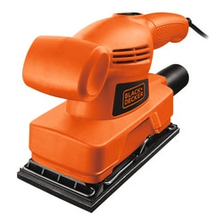 Black and Decker - Levigatrice orbitale 135W da 13 di foglio - KA300
