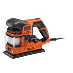 Black and Decker - Levigatrice orbitale DUOSAND 270W da 13 di foglio in valigetta con accessori - KA330EKA