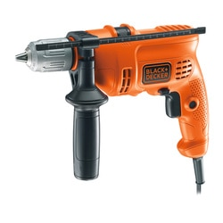 Black and Decker - Trapano a percussione 500W in valigetta - KR504CRESK