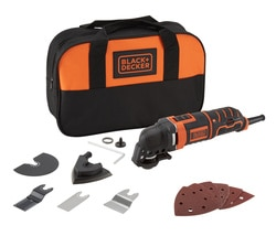Black and Decker - Utensile multifunzione 300W in borsa portautensili - MT300SA2