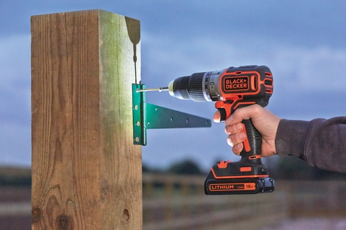 Black and Decker - TrapanoAvvitatore a percussione Brushless 18V Litio in valigetta con doppia batteria - BL188KB