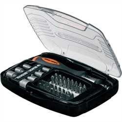 Black And Decker - Set 40 pezzi con cricchetto - A7062