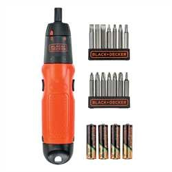 Black and Decker - Set 19 pezzi per avvitare e svitare - A7073