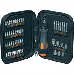 Black and Decker - Set 56 pezzi con cricchetto - A7104