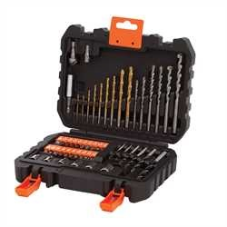Black And Decker - Set 50 pezzi per forare ed avvitare - A7188