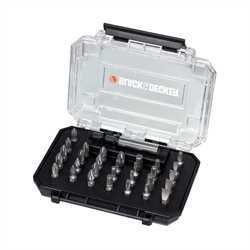 Black and Decker - Set per avvitare da 31 pezzi - A7201