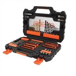 Black And Decker - Set 104 pezzi per forare ed avvitare - A7230