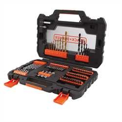 Black And Decker - Set 76 pezzi per forare ed avvitare - A7231