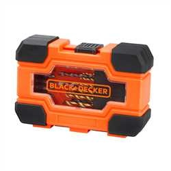 Black And Decker - Set 27 pezzi per forare ed avvitare - A7235