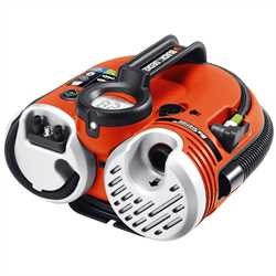 Black and Decker - Compressore portatile con batteria integrata 11 Bar  160 Psi - ASI500