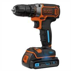 Black and Decker - TrapanoAvvitatore smart tech 18V Litio in valigetta - BDCDC18KST
