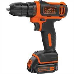 Black and Decker - TrapanoAvvitatore 108V Litio in valigetta - BDCDD12K