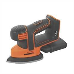 Black and Decker - Levigatrice Mouse 18V Litio unit senza batteria e senza caricabatterie - BDCDS18N