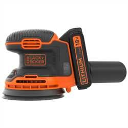 Black and Decker - Levigatrice rotorbitale 18V Litio - BDCROS18