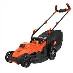 Black and Decker - Rasaerba a filo 1400W 34cm impugnatura Bike - BEMW461BH