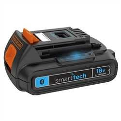 Black and Decker - Batteria smart tech al Litio 18V  15Ah - BL1518ST