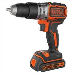 Black and Decker - TrapanoAvvitatore a percussione Brushless 18V Litio in valigetta - BL188K