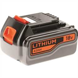 Black and Decker - Batteria al Litio 18V  40Ah - BL4018