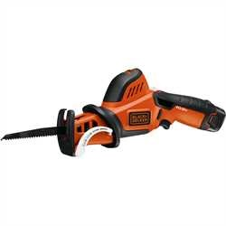 Black and Decker - Sega da giardino 108V Litio con 3 lame - GKC108X