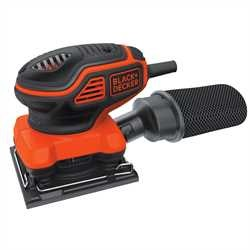 Black and Decker - Levigatrice orbitale 220W da 14 di foglio - KA450