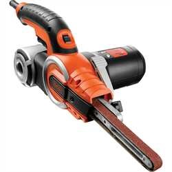 Black and Decker - Lima elettrica 400W con 9 accessori - KA902EK