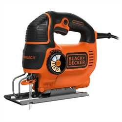 Black and Decker - Seghetto alternativo Autoselect 550W ad azione pendolare - KS801SE