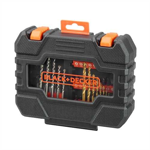 Black and Decker - Set 50 pezzi per forare ed avvitare - A7232
