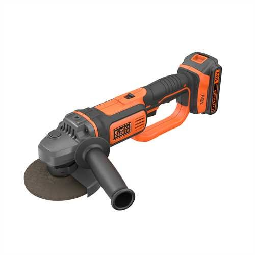 Black and Decker - Smerigliatrice angolare a batteria 18V40Ah Litio - BCG720M1
