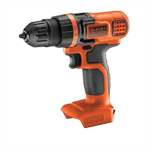 Black and Decker - TrapanoAvvitatore 18V Litio unit senza batteria e senza caricabatterie - BDCDD18N