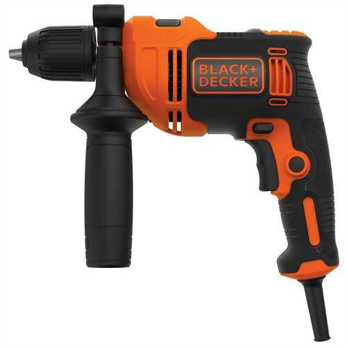 Black and Decker - Trapano a percussione 550W in valigetta - BEH550K