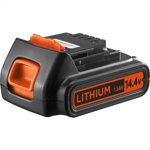 Black and Decker - Batteria al Litio 144V  15Ah - BL1514
