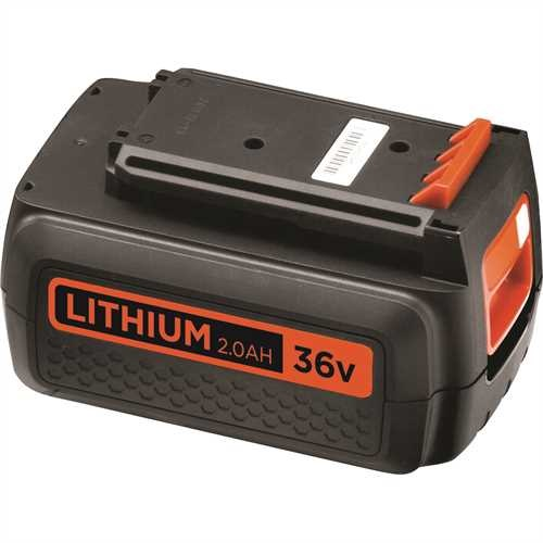Black And Decker - Batteria al Litio 36V  20Ah - BL2036