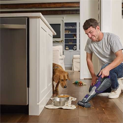 Black and Decker - Dustbuster PET litio 27 Wh 25 Ah con tecnologia SmartTech - DVJ325BFSP