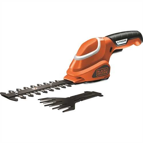Black and Decker - Kit cesoia sfoltirami 7V Litio - GSL700