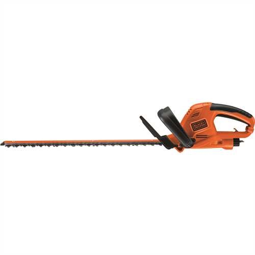 Black and Decker - Tagliasiepi 500W con lama 55cm e passo lama 22mm - GT5055