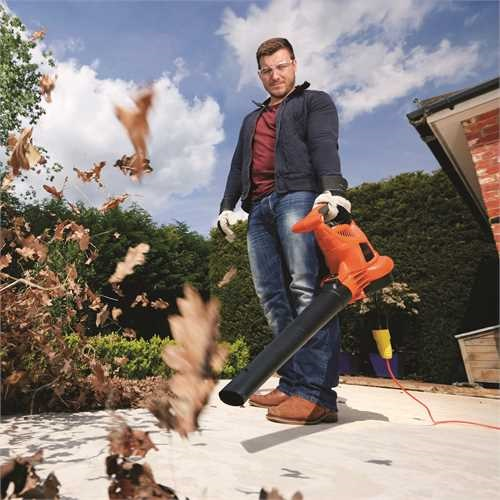 Black and Decker - SoffiatoreAspiratoreTrituratore 3000W con Leaf Collection System - GW3050