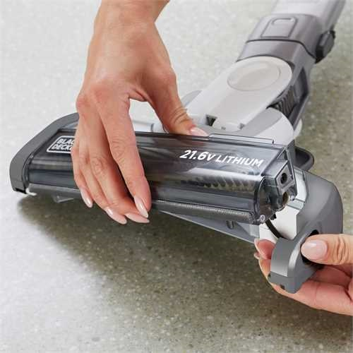 Black and Decker - Scopa ricaricabile 2 in 1 kit estensione con ORA Technology - HVFE2150L