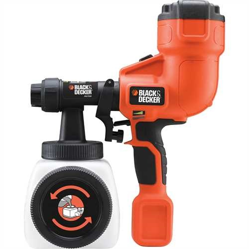 Black and Decker - Pistola a spruzzo compatta - HVLP200