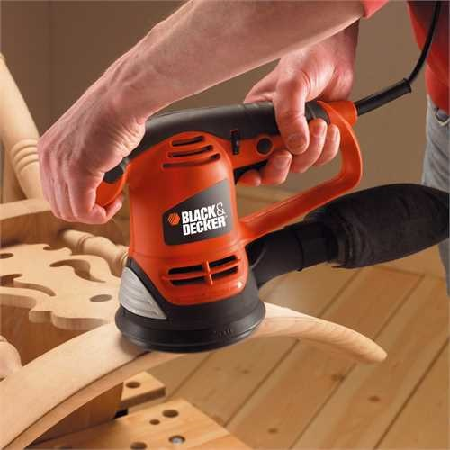 Black and Decker - Levigatrice rotorbitale 480W - KA191EK