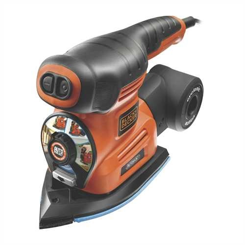 Black and Decker - Multilevigatrice 4 in 1 Autoselect con piastra per persiane - KA280LK