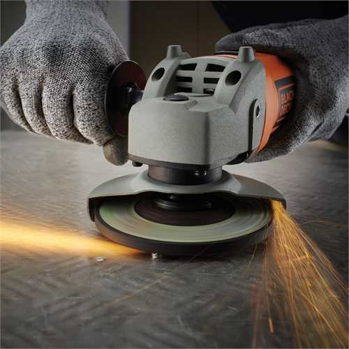 Black and Decker - Smerigliatrice angolare 750W  115mm - KG115