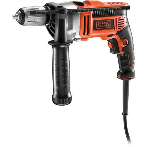 Black and Decker - Trapano a percussione 850W in valigetta - KR806K
