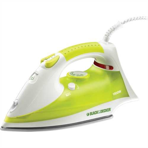 Black and Decker - Ferro da stiro a vapore 1800W - X715